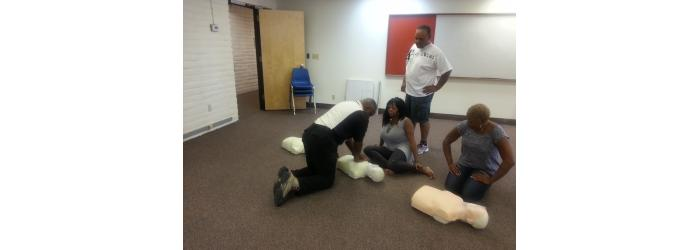Practicing CPR