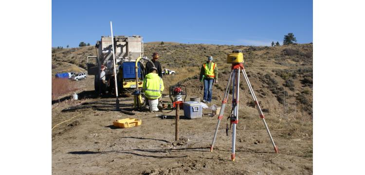 Foundation grouting at earth dam near Kremmling, CO - Michael W. West and Assoc., Inc.
