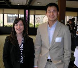 MPA SPRING CONVENTION - Rachel Sienko and Ivan Wu, winners of MPAs Diversity Research Poster Contest