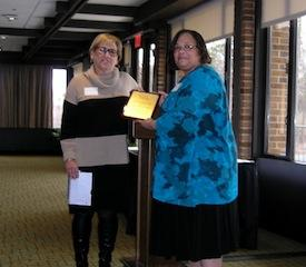 MPA SPRING CONVENTION - Carol Schwartz receives MPA's Beth Clark Award for her service
