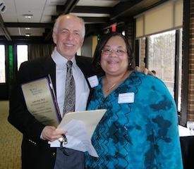 Louis Post, Insurance Committee Chair, wins the 2014 MPA Distinguished Psychologist Award.