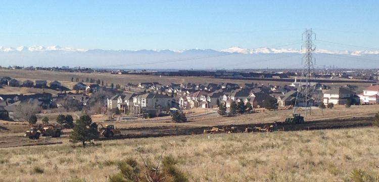 Earthwork operations, Aurora, CO (Garner)