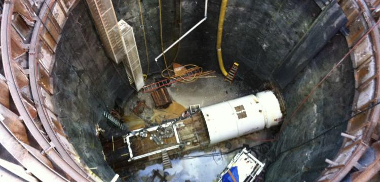 Southern Delivery System Shaft and 105 inch TBM (Dornfest)