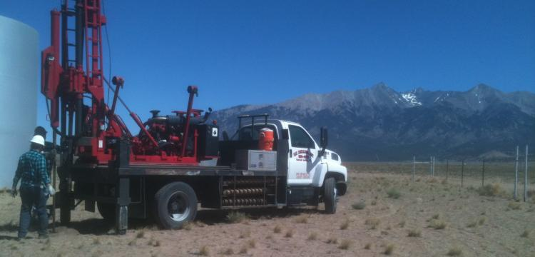Drilling borings with GDI Drilling, Inc. in Blanca, CO (Garner)