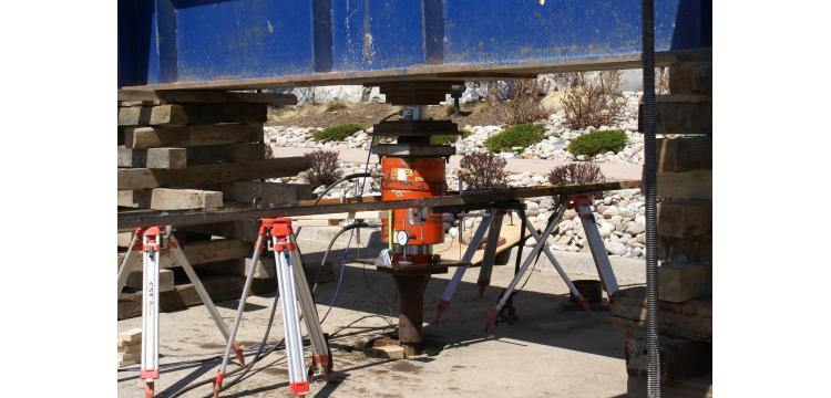 Screw pile load test, Golden, CO - Michael W. West and Assoc., Inc.