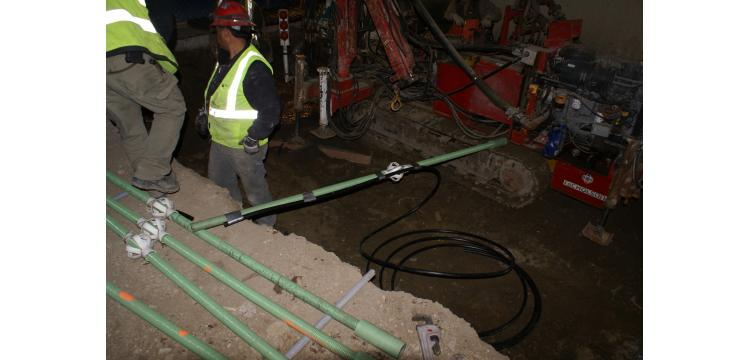 Micropile installation, Golden, CO -Michael W. West and Assoc., Inc.