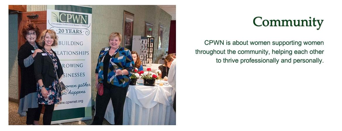 CPWN is about women supporting women